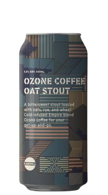 Sawmill Ozone Coffee Oat Stout 440ml can