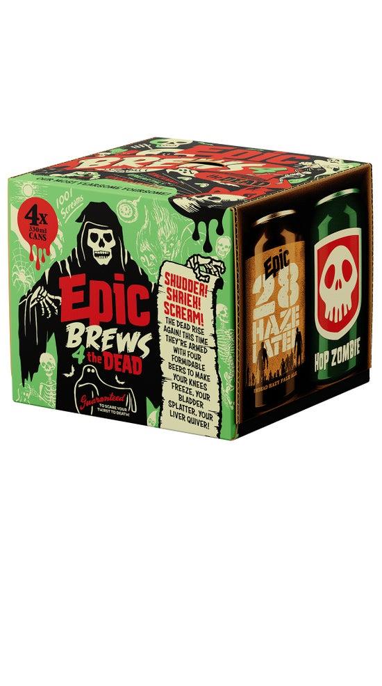 Epic Brews 4 The Dead 4pk 330ml cans