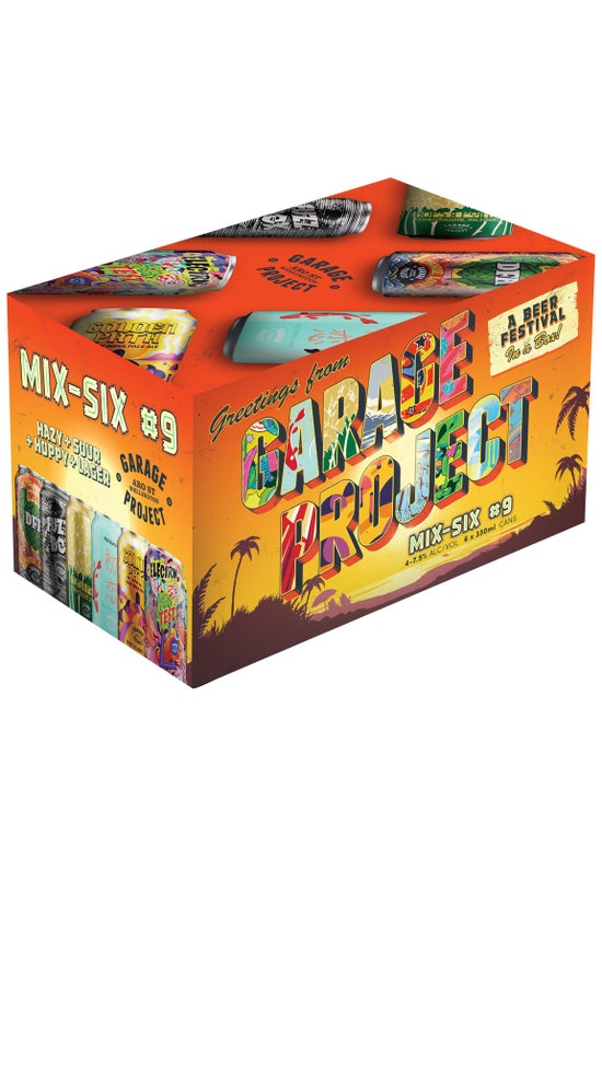 Garage Project Mix Six #9 6pk 330ml Cans