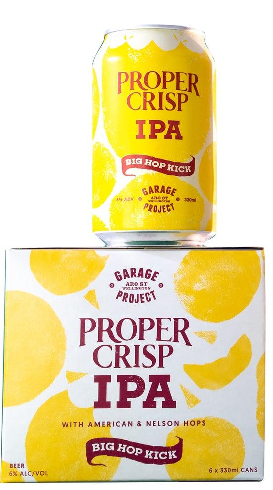 Garage Project Proper Crisp IPA 6pk 330ml cans