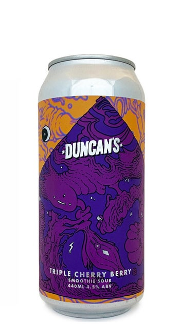 Duncans Triple Cherry Berry Smoothie Sour 440ml can
