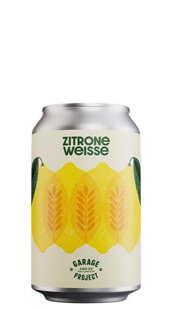 Garage Project Zitrone Weisse 330ml can