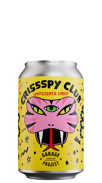 2021 Garage Project Crissspy Club Serpentes 330ml can