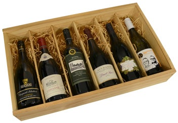 Gift Box Wooden Six Pack